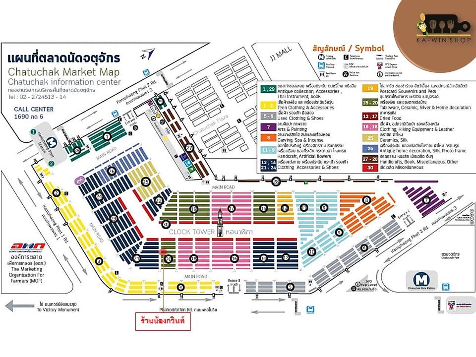 KAWIN SHOP MAP