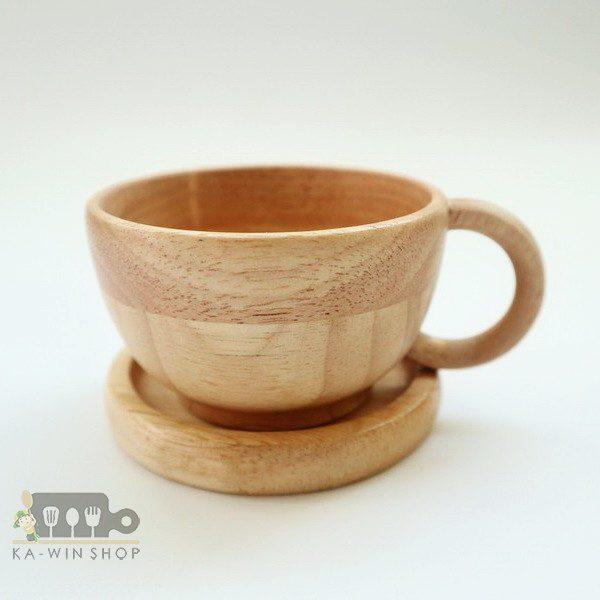 ถ้วยกาแฟไม้